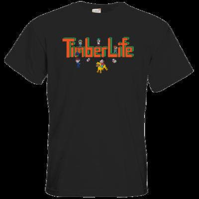 Motiv: T-Shirt Premium FAIR WEAR - TimberLife Schriftzug