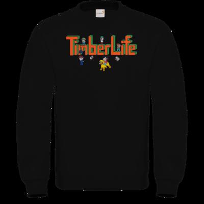 Motiv: Sweatshirt FAIR WEAR - TimberLife Schriftzug