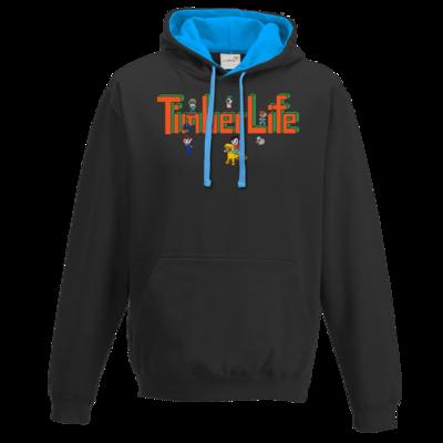 Motiv: Two-Tone Hoodie - TimberLife Schriftzug