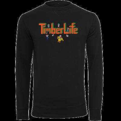 Motiv: Light Crew Sweatshirt - TimberLife Schriftzug