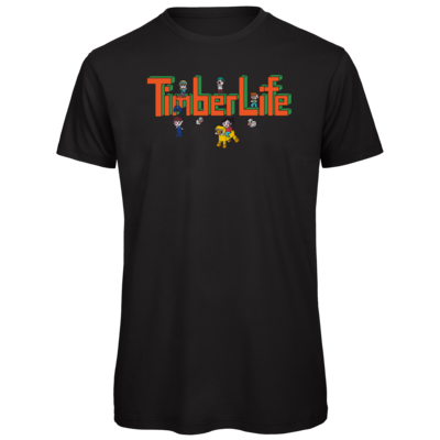 Motiv: Organic T-Shirt - TimberLife Schriftzug