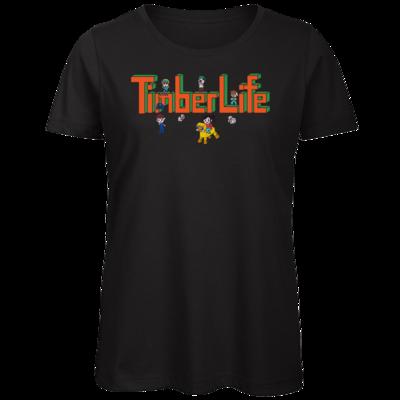 Motiv: Organic Lady T-Shirt - TimberLife Schriftzug
