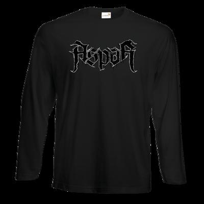 Motiv: Exact 190 Longsleeve FAIR WEAR - Blackmetal Logo