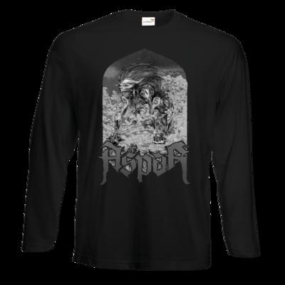 Motiv: Exact 190 Longsleeve FAIR WEAR - Skeletor Demon Frame