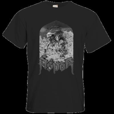 Motiv: T-Shirt Premium FAIR WEAR - Skeletor Demon Frame