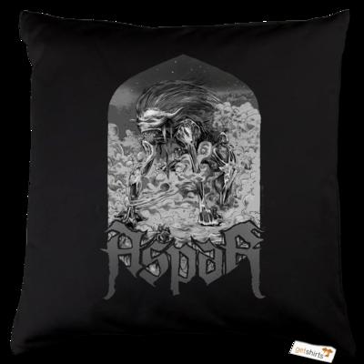 Motiv: Kissen Baumwolle - Skeletor Demon Frame