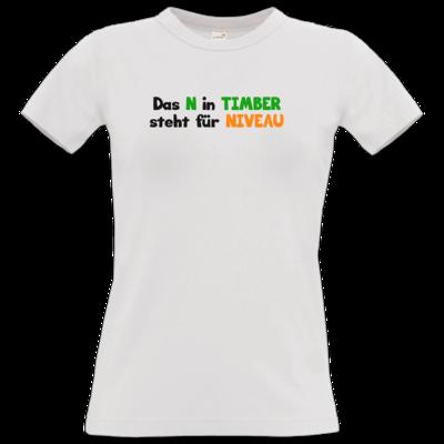Motiv: T-Shirt Damen Premium FAIR WEAR - Niveau