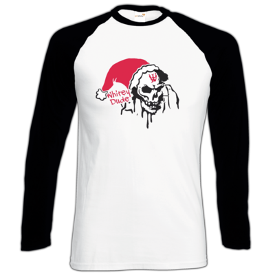 Motiv: Longsleeve Baseball T - Santa