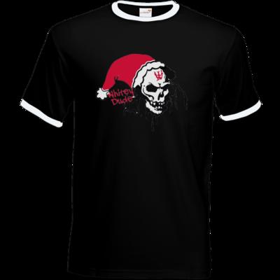 Motiv: T-Shirt Ringer - Santa