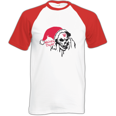 Motiv: Baseball-T FAIR WEAR - Santa