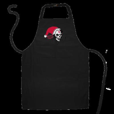 Motiv: Schürze - Santa