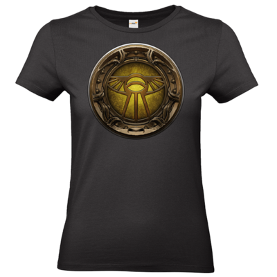 Motiv: T-Shirt Damen Premium FAIR WEAR - Götter Siegel - Praios