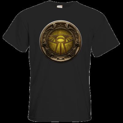 Motiv: T-Shirt Premium FAIR WEAR - Götter Siegel - Praios