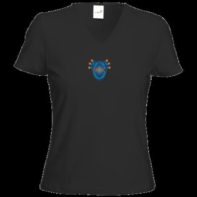 Motiv: T-Shirts Damen V-Neck FAIR WEAR - O.N.C Logo KLEIN