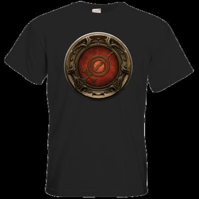 Motiv: T-Shirt Premium FAIR WEAR - Götter Siegel - Rondra
