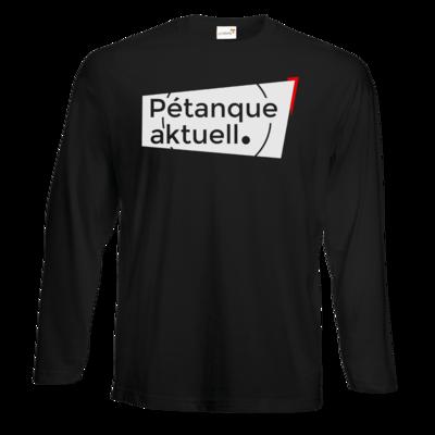 Motiv: #E190 Longsleeve FAIR WEAR - Petanque Aktuell Logo