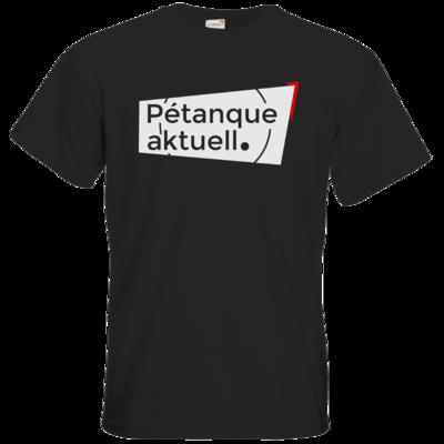 Motiv: T-Shirt Premium FAIR WEAR - Petanque Aktuell Logo
