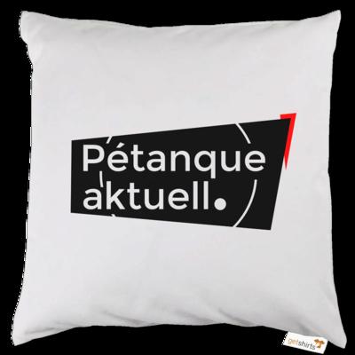 Motiv: Kissen - Petanque Aktuell Logo