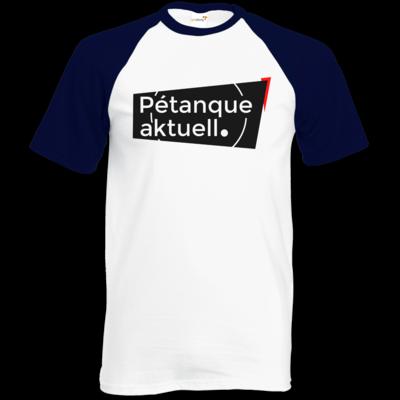 Motiv: Baseball-T FAIR WEAR - Petanque Aktuell Logo