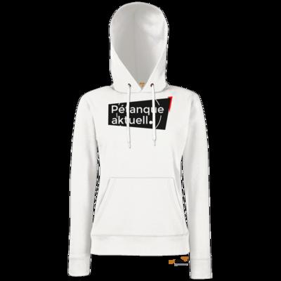 Motiv: Hoodie Damen Classic - Petanque Aktuell Logo