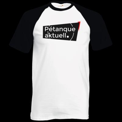 Motiv: TShirt Baseball - Petanque Aktuell Logo