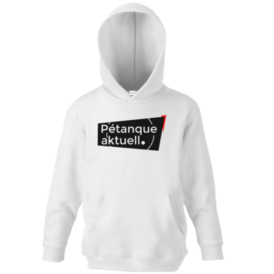 Motiv: Kids Hooded Sweat - Petanque Aktuell Logo