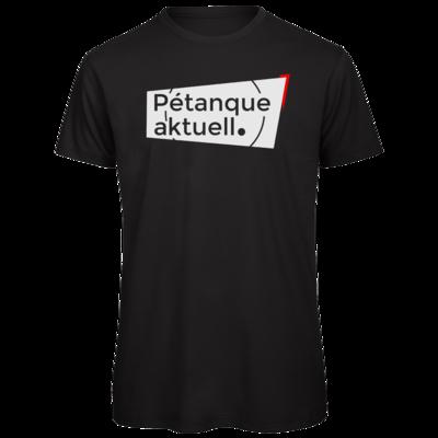 Motiv: Organic T-Shirt - Petanque Aktuell Logo