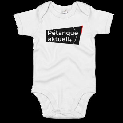Motiv: Baby Body Organic - Petanque Aktuell Logo