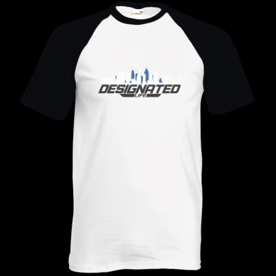 Motiv: TShirt Baseball - designated