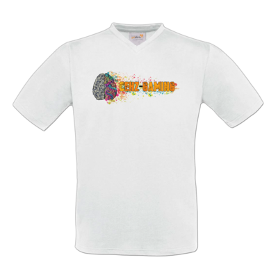 Motiv: T-Shirt V-Neck FAIR WEAR - CEHZ-Gaming Logo
