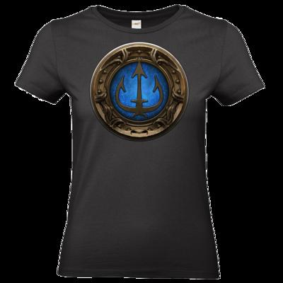 Motiv: T-Shirt Damen Premium FAIR WEAR - Götter Siegel - Efferd