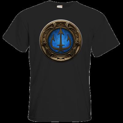 Motiv: T-Shirt Premium FAIR WEAR - Götter Siegel - Efferd