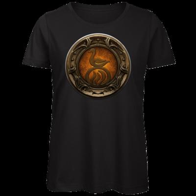 Motiv: Organic Lady T-Shirt - Götter Siegel - Travia