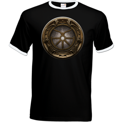 Motiv: T-Shirt Ringer - Götter Siegel - Boron