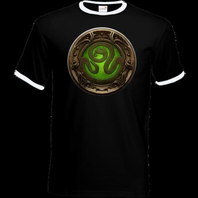 Motiv: T-Shirt Ringer - Götter Siegel - Hesinde