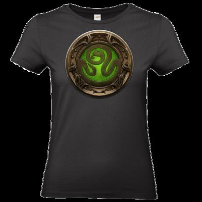 Motiv: T-Shirt Damen Premium FAIR WEAR - Götter Siegel - Hesinde
