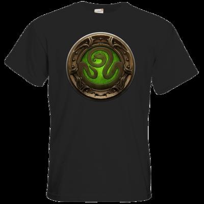Motiv: T-Shirt Premium FAIR WEAR - Götter Siegel - Hesinde