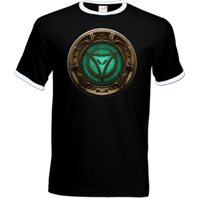 Motiv: T-Shirt Ringer - Götter Siegel - Phex