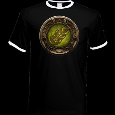 Motiv: T-Shirt Ringer - Götter Siegel - Peraine