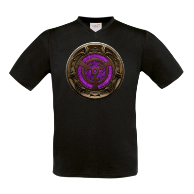 Motiv: T-Shirt V-Neck FAIR WEAR - Götter Siegel - Namenloser