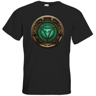 Motiv: T-Shirt Premium FAIR WEAR - Götter Siegel - Phex