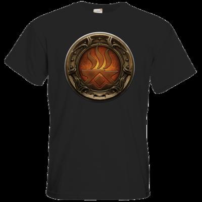 Motiv: T-Shirt Premium FAIR WEAR - Götter Siegel - Angrosch