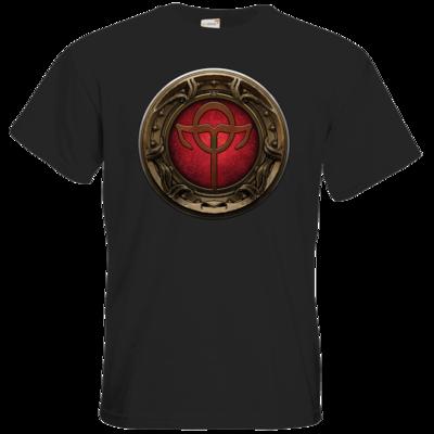 Motiv: T-Shirt Premium FAIR WEAR - Götter Siegel - Rahja