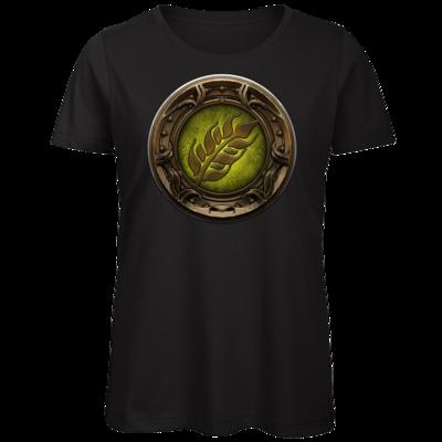 Motiv: Organic Lady T-Shirt - Götter Siegel - Peraine