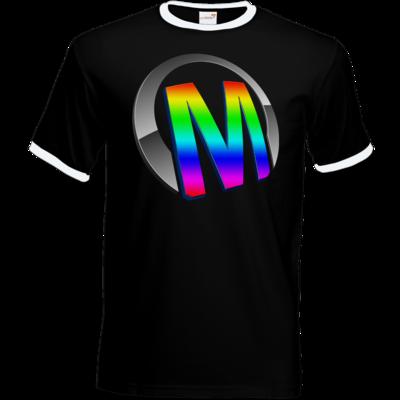Motiv: T-Shirt Ringer - Macho - Logo - 2Jahre