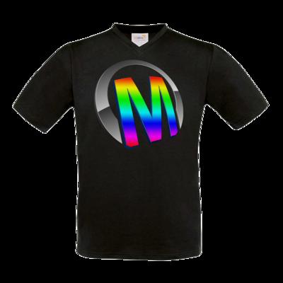Motiv: T-Shirt V-Neck FAIR WEAR - Macho - Logo - 2Jahre