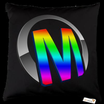 Motiv: Kissen Baumwolle - Macho - Logo - 2Jahre