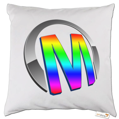 Motiv: Kissen - Macho - Logo - 2Jahre