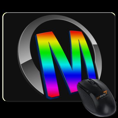 Motiv: Mousepad Textil - Macho - Logo - 2Jahre