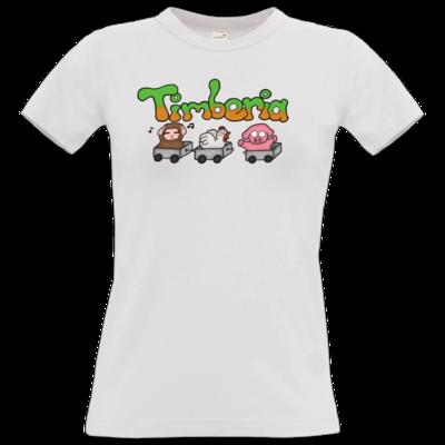 Motiv: T-Shirt Damen Premium FAIR WEAR - Timberia Zug